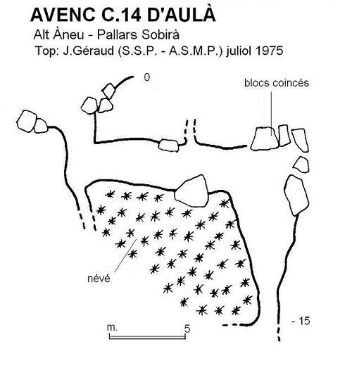 topo Avenc C.14 d'Aulà