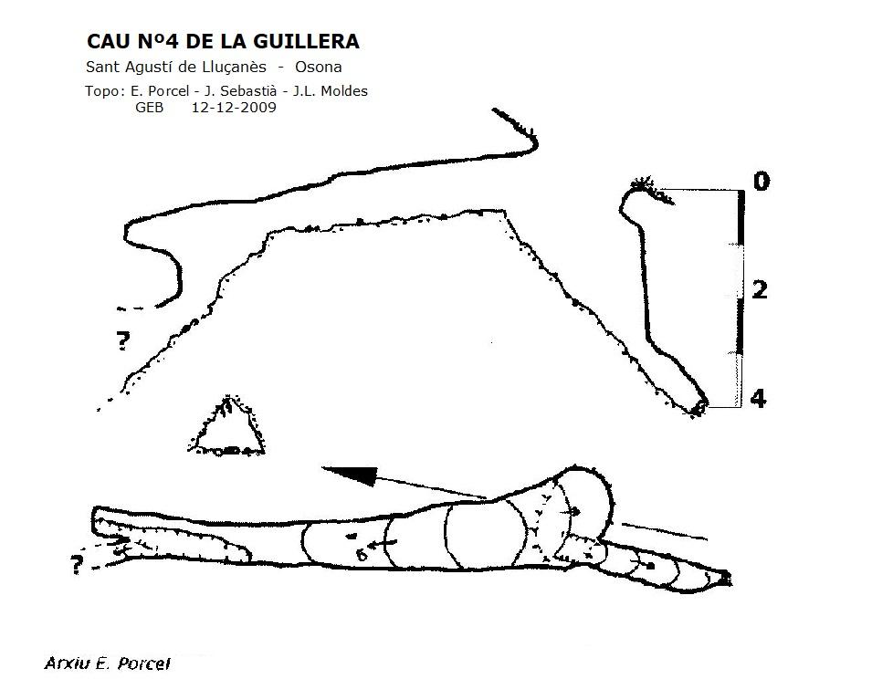 topo Caus de la Guillera