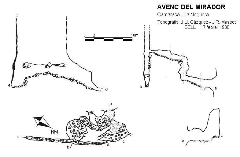 topo Avenc del Mirador