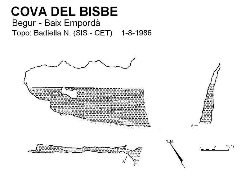 topo Cova del Bisbe