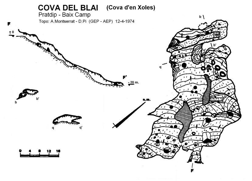 topo Cova del Blai