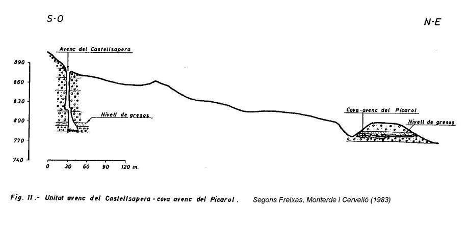 topo Cova-avenc del Picarol