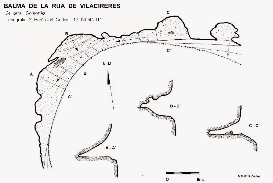 topo Balma de la Rua de Vilacireres