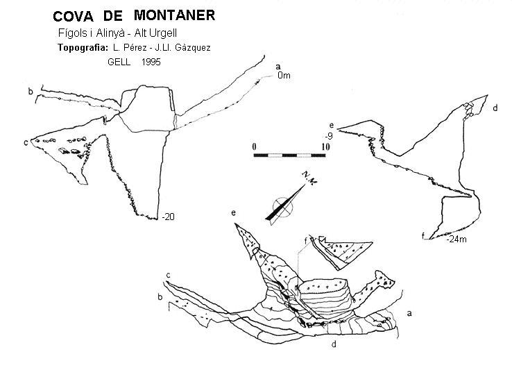 topo Cova de Montaner