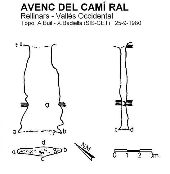 topo Avenc del Camí Ral