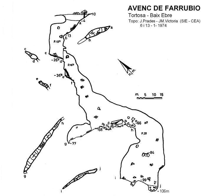 topo Avenc de Farrubio