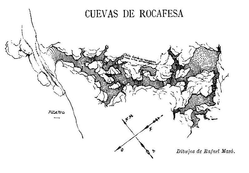 topo Cova de Rocafesa