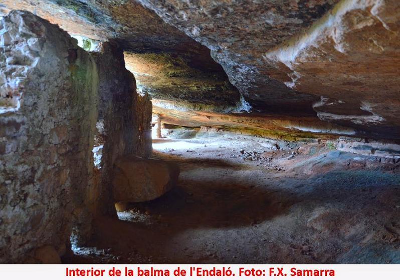 foto Balma de l'Endaló