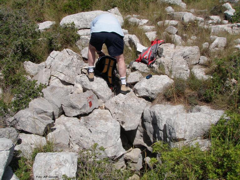 foto Avenc Sm-12 del Serrat de la Morella