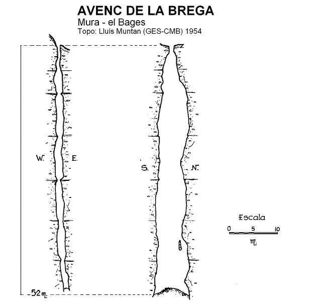 topo Avenc de la Brega
