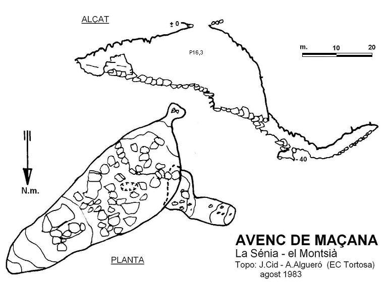 topo Avenc de Maçana