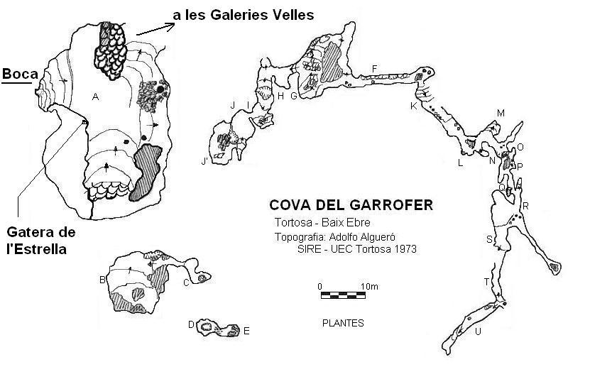 topo Cova del Garrofer