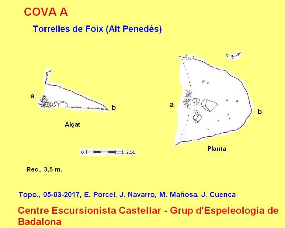 topo Cova a de Foix