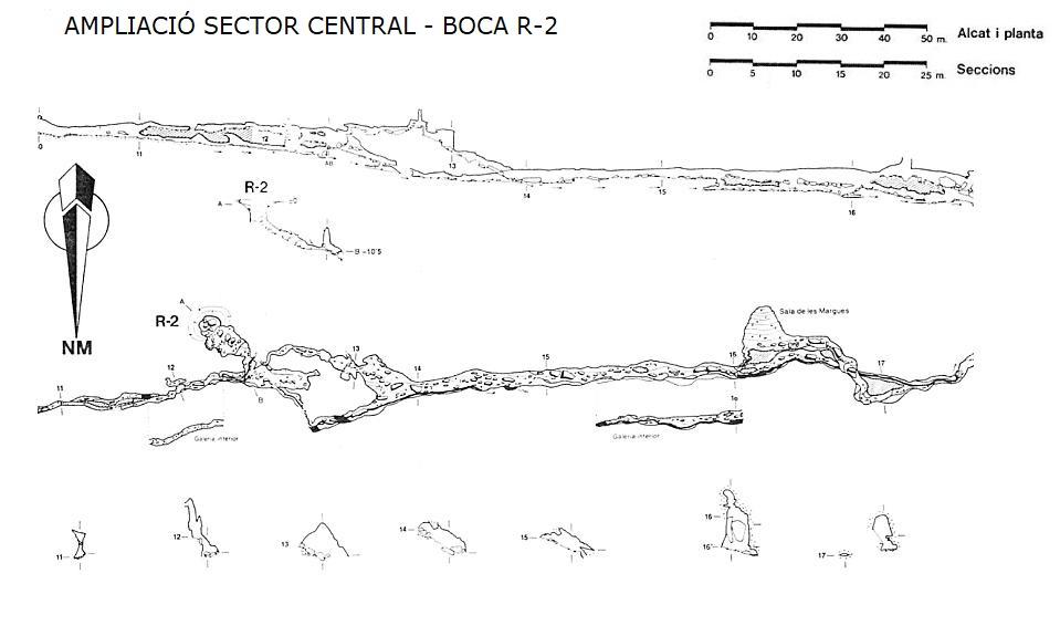 topo Cova de Rotgers (r2 I R3)