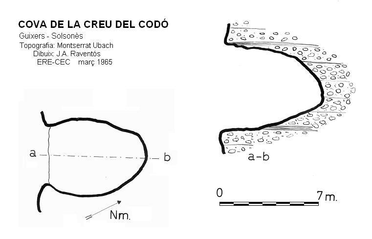 topo Cova de la Creu del Codó