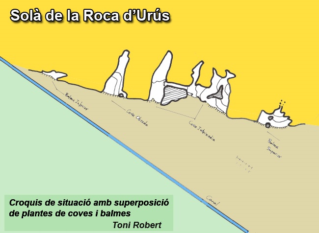 topo Cova Intermèdia de la Roca d'urús