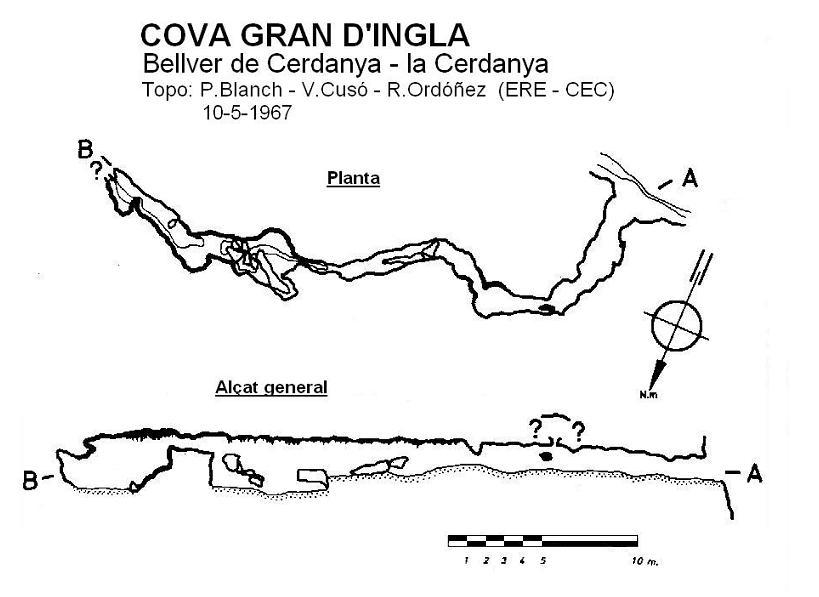 topo Cova Gran d'Ingla