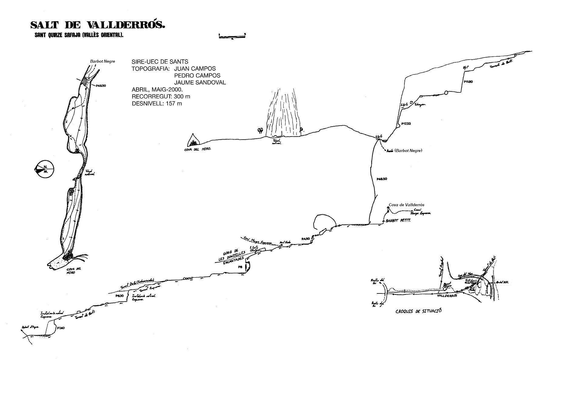 topo Cova de Vallderrós