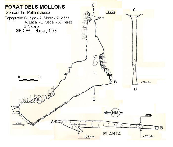 topo Forat dels Mollons
