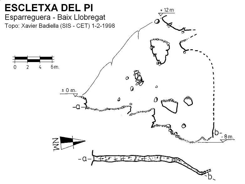 topo Escletxa del Pi