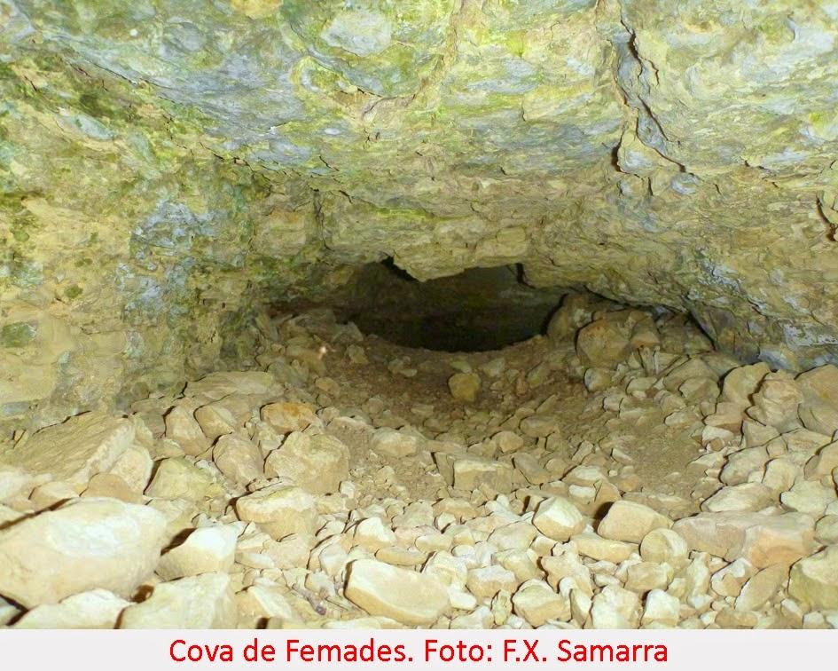 foto Cova de les Femades