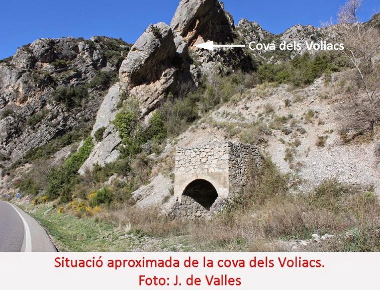 foto Cova dels Voliacs