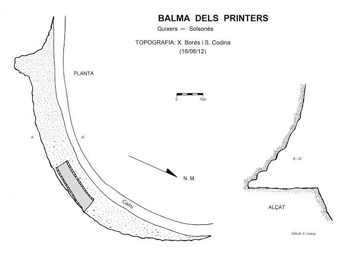 topo Balma dels Printers