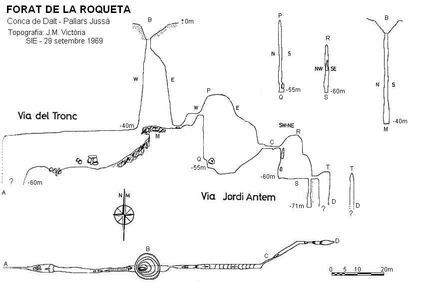 topo Forat de la Roqueta
