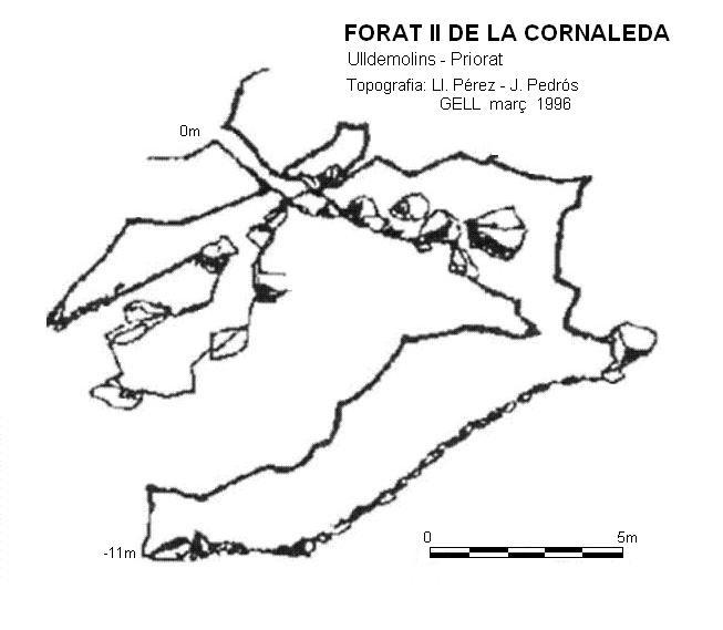 topo Forat Ii de la Cornaleda