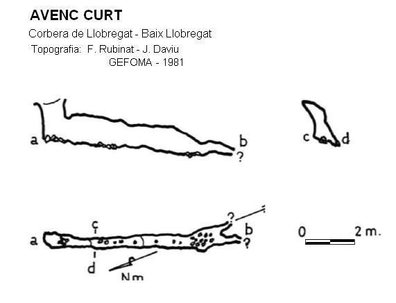 topo Avenc Curt