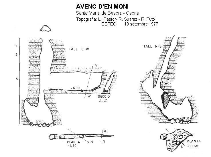 topo Avenc d'en Moni
