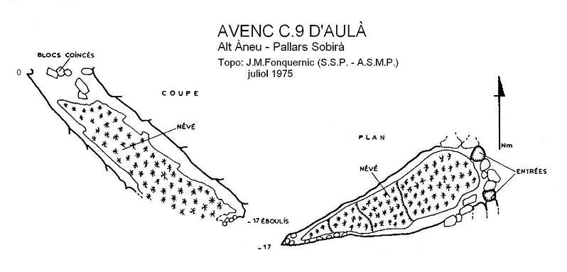 topo Avenc C.9 d'Aulà