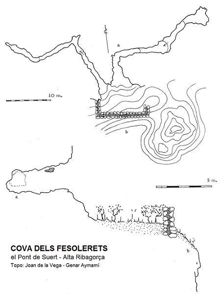 topo Cova de Fesolerets