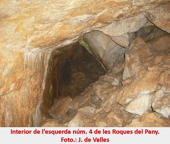 foto Esquerda Nº4 de les Roques del Pany