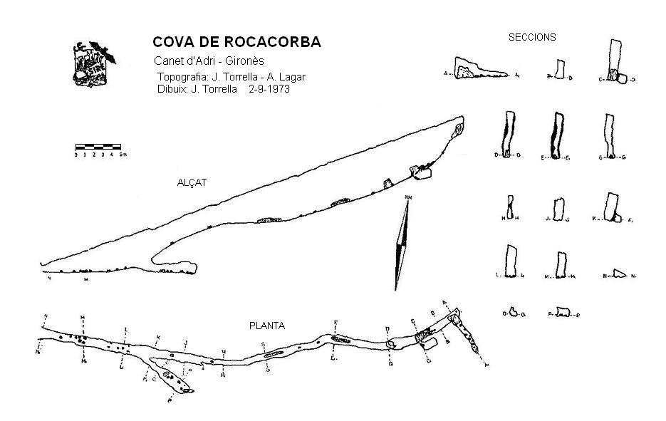 topo Cova de Rocacorba