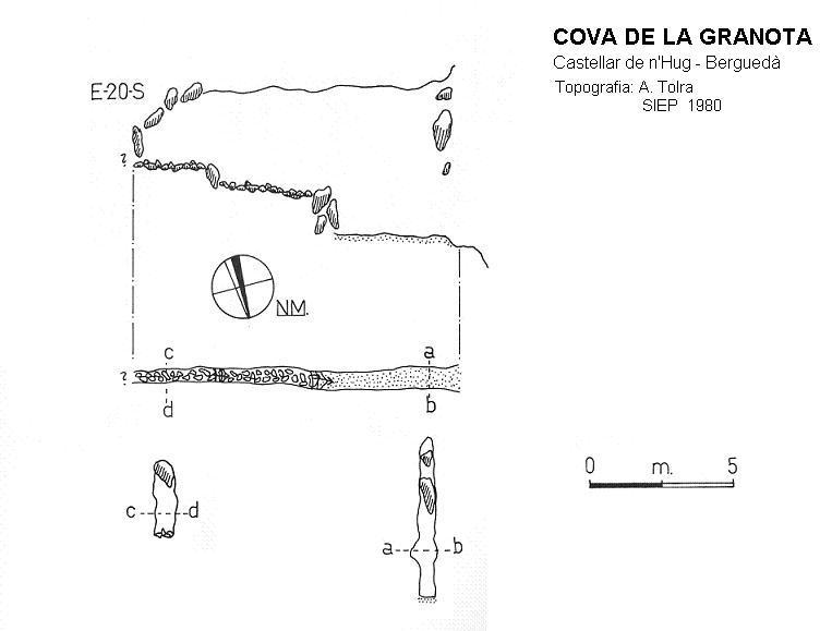 topo Cova de la Granota