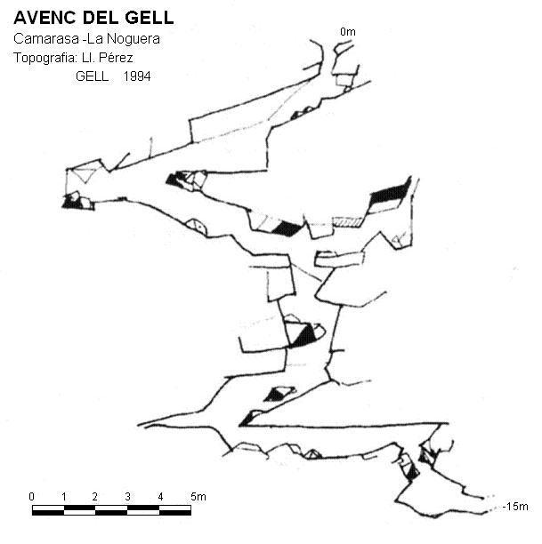 topo Avenc del Gell