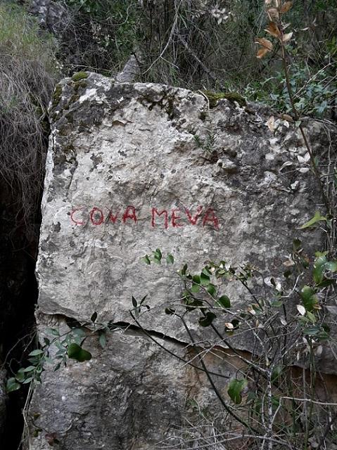 foto Escletxa de les Rovires Nº2