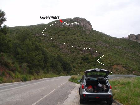 foto Avenc dels Guerrillers-guerrilla