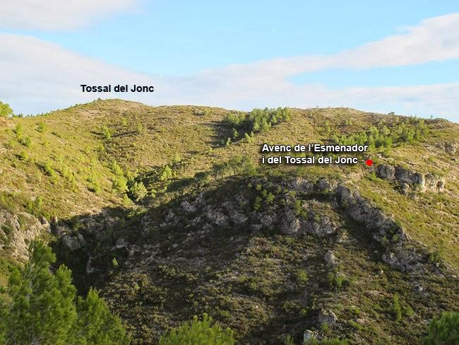 foto Avencs de l'Esmenador I del Tossal del Jonc