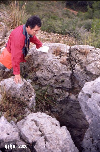 foto Avenc de la Carena del Montnàs