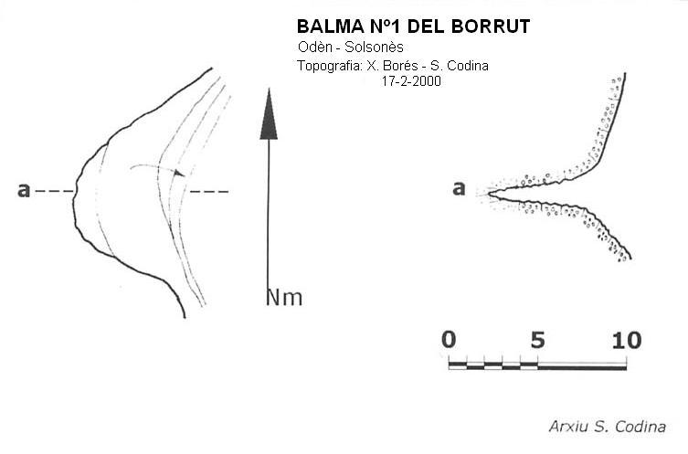 topo Balma Nº1 del Borrut