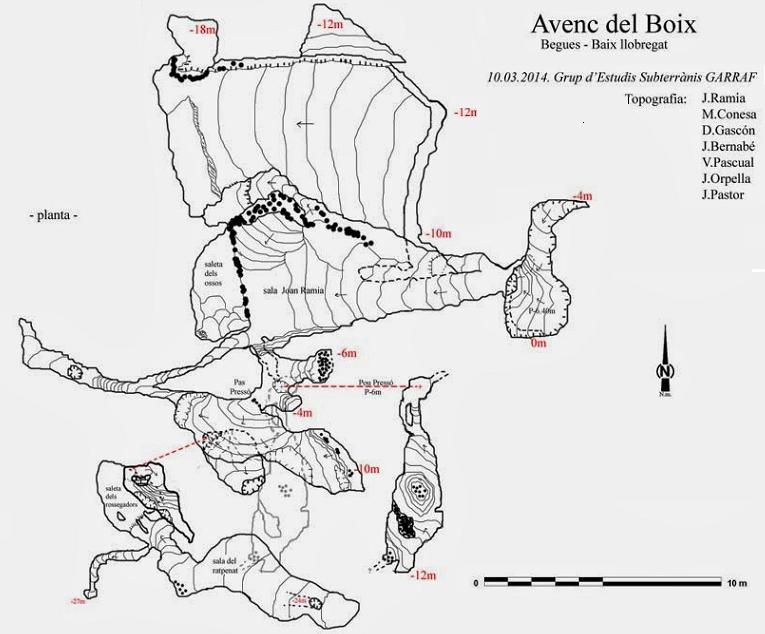 topo Avenc del Boix