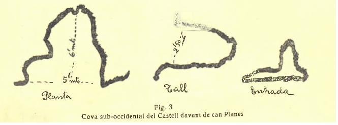 topo Tuta Nº4 del Castell de Rocabruna