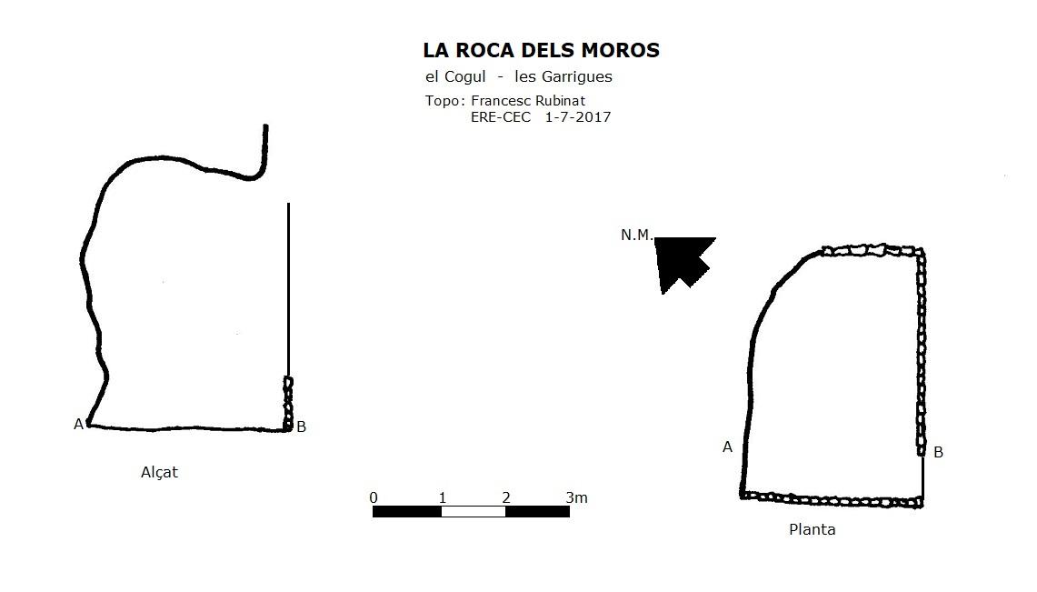 topo la Roca dels Moros
