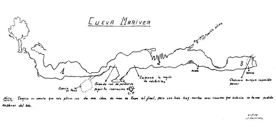 topo Cova de Mariver de Martís