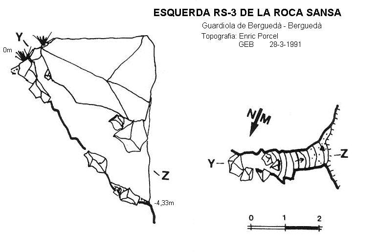 topo Esquerda Rs-3 de Roca Sança