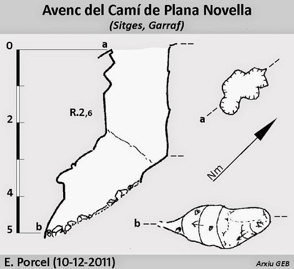 topo Avenc del Camí de Plana Novella