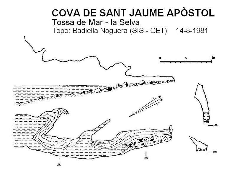 topo Cova de Sant Jaume Apòstol