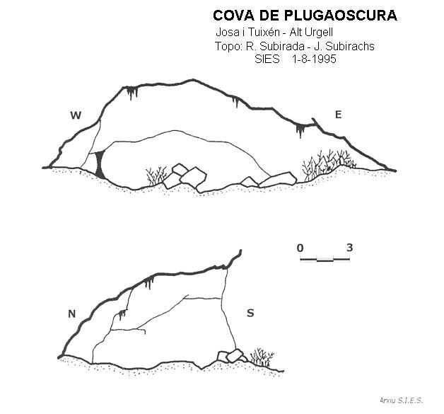 topo Cova de Plugaoscura